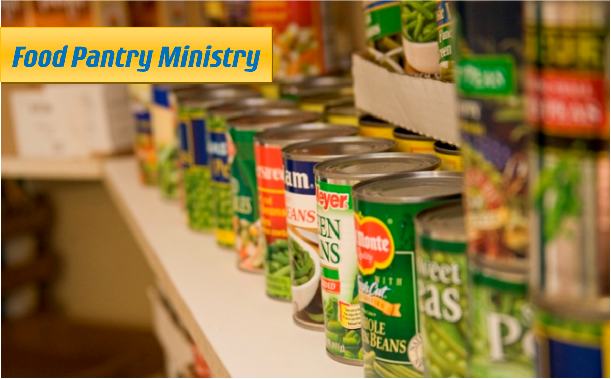 Join Our Food Pantry Ministry